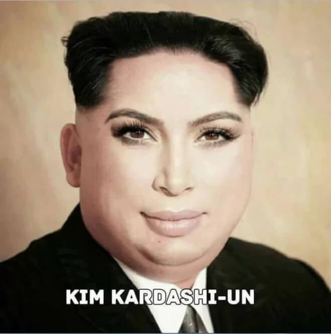 Face - KIM KARDASHI-UN