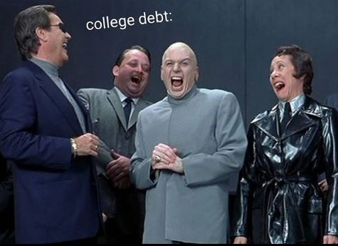 Event - college debt: