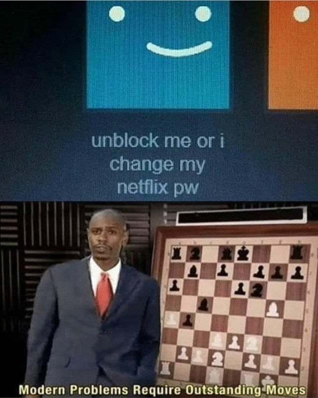 Games - unblock me or i change my netflix pw Modern Problems Require Outstanding Moves (.