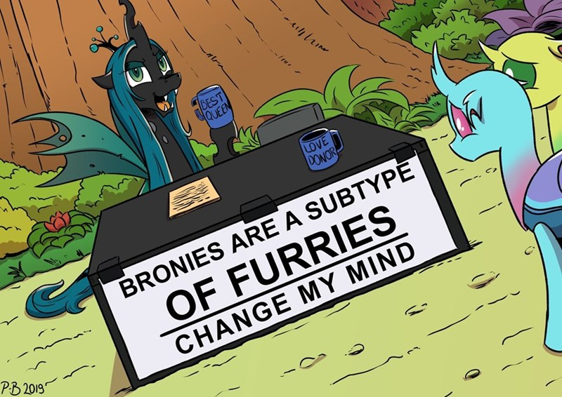 change my mind pony-berserker Memes chrysalis changelings - 9419900416
