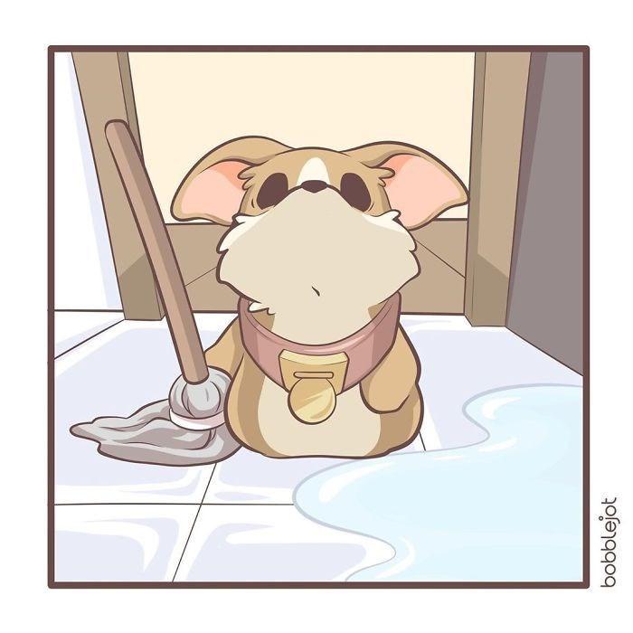 Cartoon - bobblejot