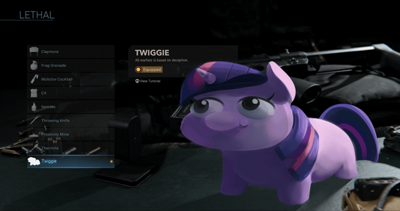 call of duty twilight sparkle - 9420669440