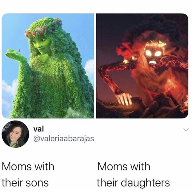 Adaptation - val @valeriaabarajas Moms with Moms with their sons their daughters