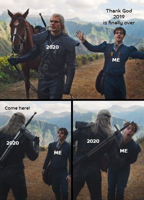 Horse - Thank God 2019 is finally over 2020 ME Come here! 2020 2020 ME ME