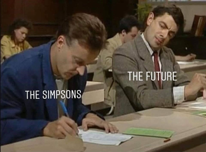 Learning - THE FUTURE THE SIMPSONS