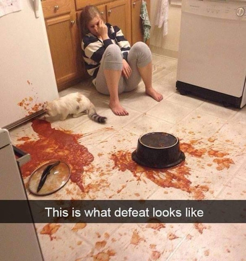 Floor - This is what defeat looks like
