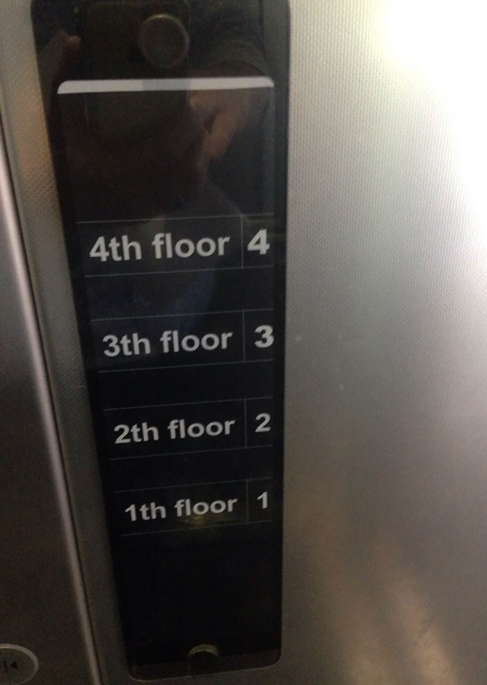 Electronics - 4th floor 4 3th floor 3 2th floor 2 1th floor 1 14