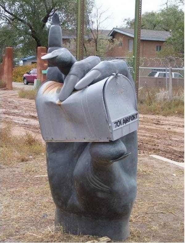 Sculpture - 701 AIRPORT
