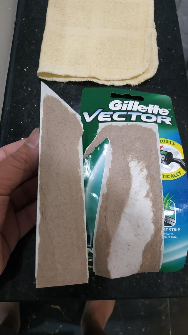 Gillette VECTOR JUSTS TICALLY RT STRIP ricants th of aloe