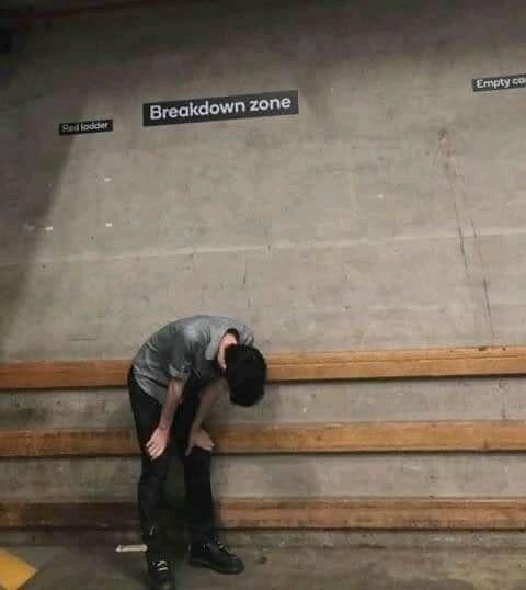 Floor - Empty co Breakdown zone Ped lodder
