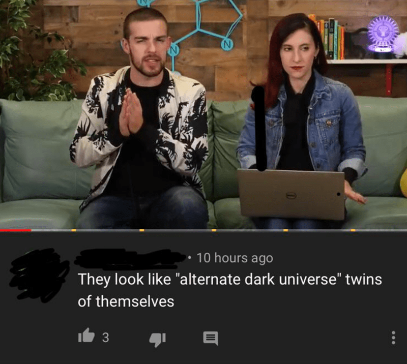 "Photo caption - 10 hours ago They look like ""alternate dark universe"" twins of themselves 3"