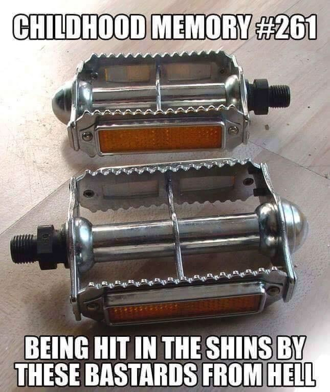 Auto part - CHILDHOOD MEMORY #261 BEING HIT IN THE SHINS BY THESE BASTARDS FROM HELL