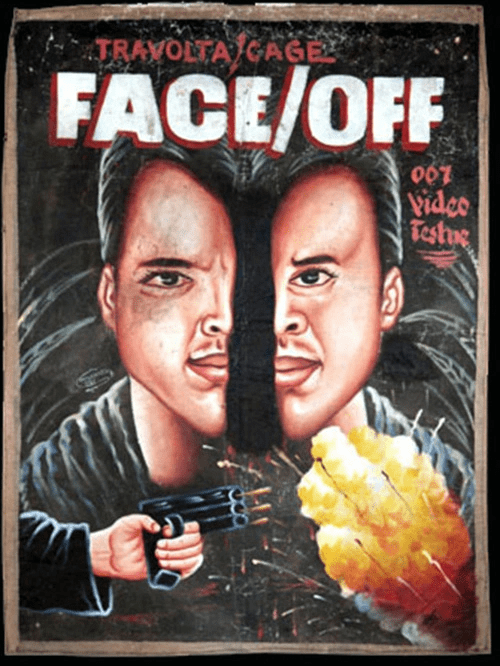 Poster - TRAYOLTA GAGE FACE/OFF 007 Vidco Testue