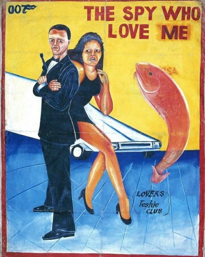 Poster - THE SPY WHO LOVE ME 200 SA LOVERS Teshie CLUB