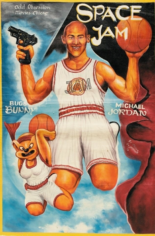 Basketball player - SPACE JAM Odd Obsession movies Chicag JAM BUGS MICHAEL JORDAN BUNNY STose