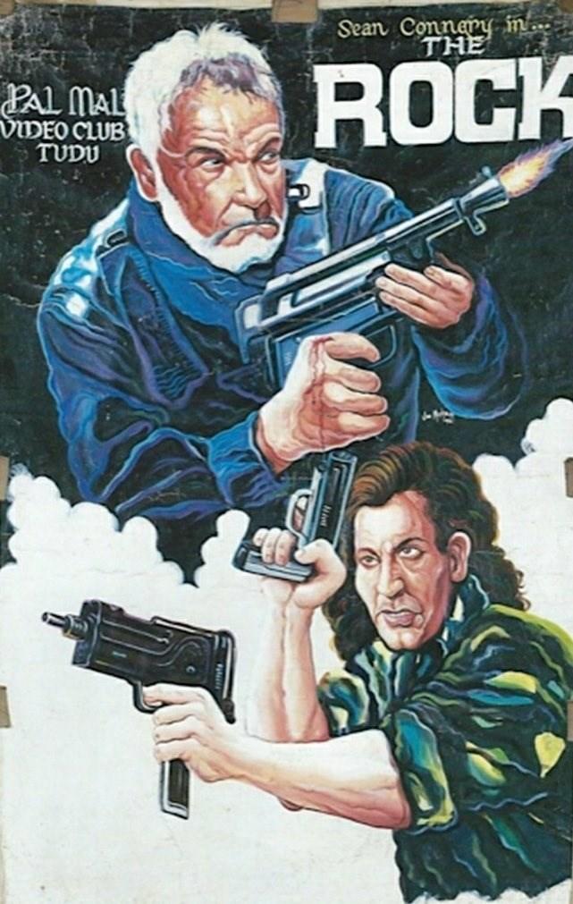 Movie - Sean Connery in. THE ROCK PAL MAL VIDEO CLUB TUDU