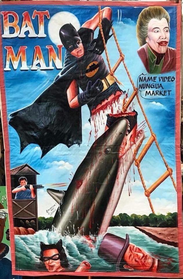Fiction - BAT MAN NAME VIDEO NUNGUA MARKET 6TION aLy