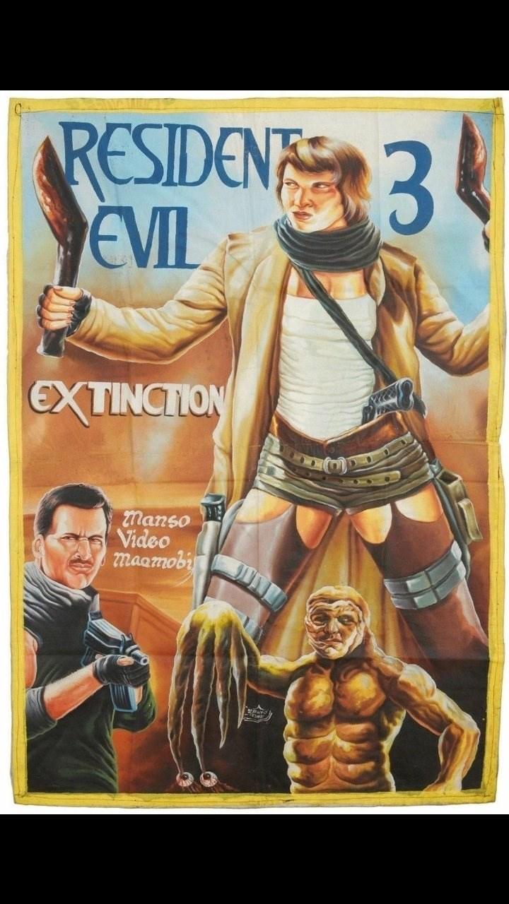 Poster - RESIDEN 3 EVIL EXTINCTION 2manso Video maamobi