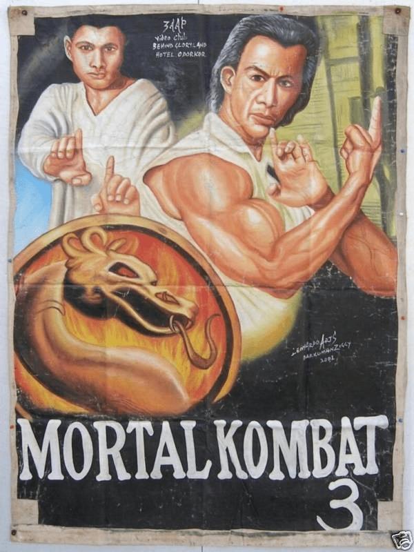 Poster - vdts chil. BEHND CLORYL4ND HOTEL ODORKOR comferofers MAKUnANZiscy MORTAL KOMBAT 31