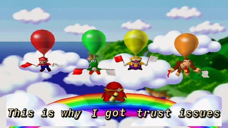 Balloon - This is why I got trust issues