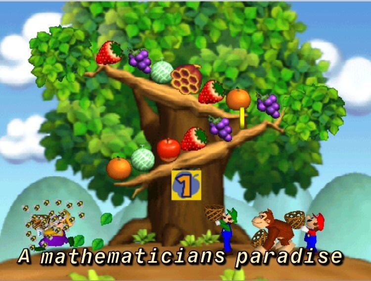 Adventure game - A mathematicians paradise
