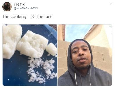 Food - 1-10 TIKI @whoDAfuckisTIKI The cooking & The face
