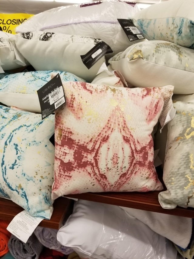 Cushion - CLOSING 1ONA Sea Marblee Deco Foil