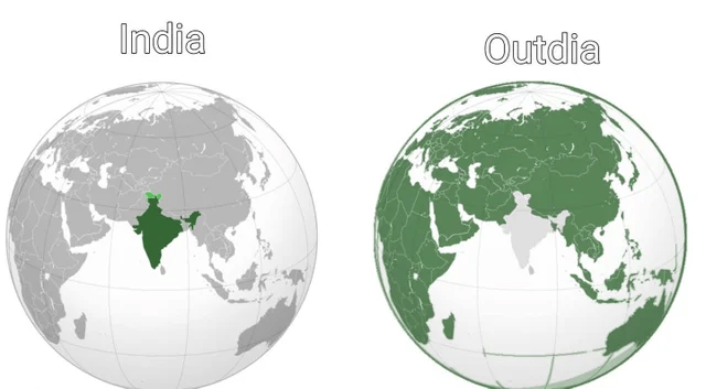 World - India Outdia
