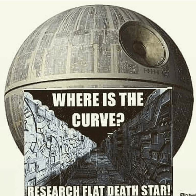 Super bowl - WHERE IS THE CURVE? RESEARCH FLAT DEATH STAR! INtent