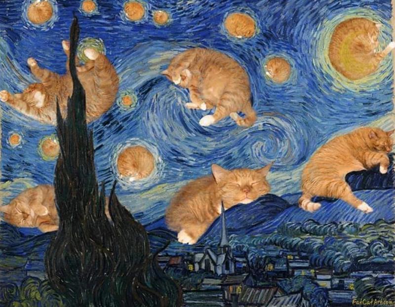 Cat - FatCat Artcom