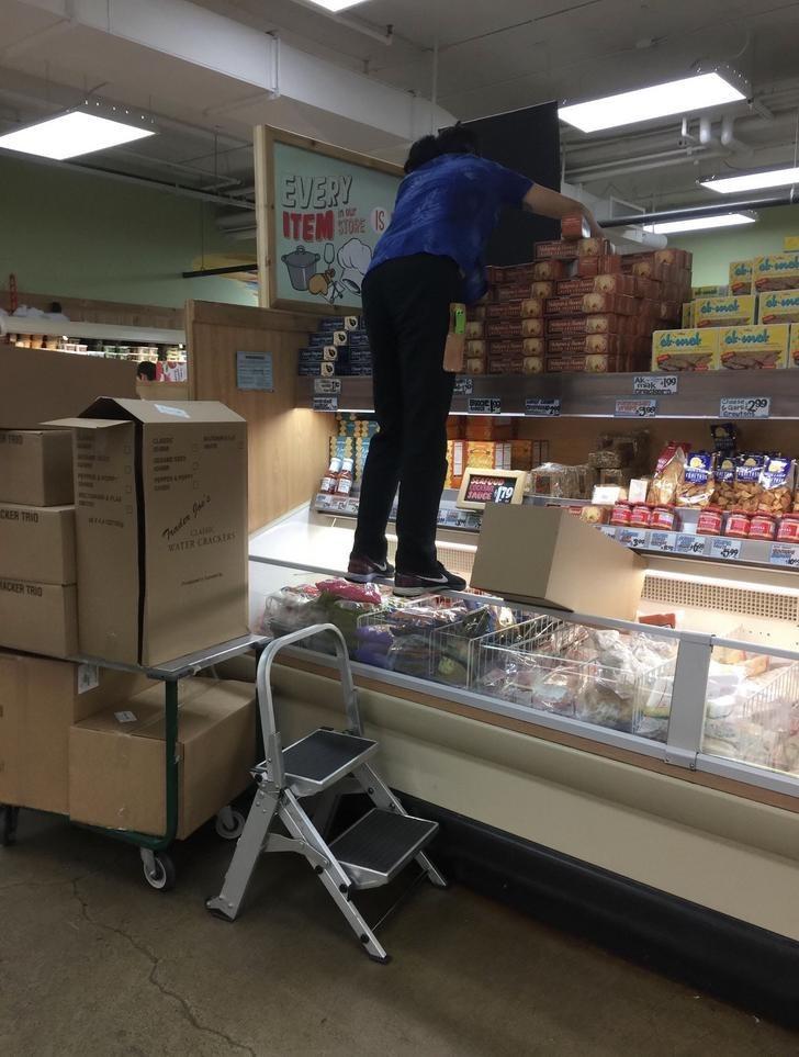 Supermarket - EVERY ITEM o-vak -sovel al-sovot ik 199 CKER TRIO Taden Jue's CLAae WATER CRACKENS ACKER TRIO