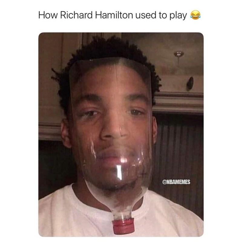 Face - How Richard Hamilton used to play @NBAMEMES