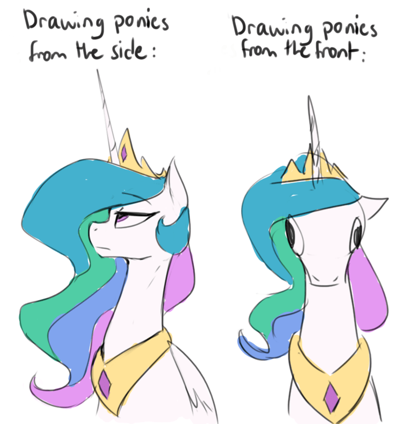 princess celestia anticular - 9425503488