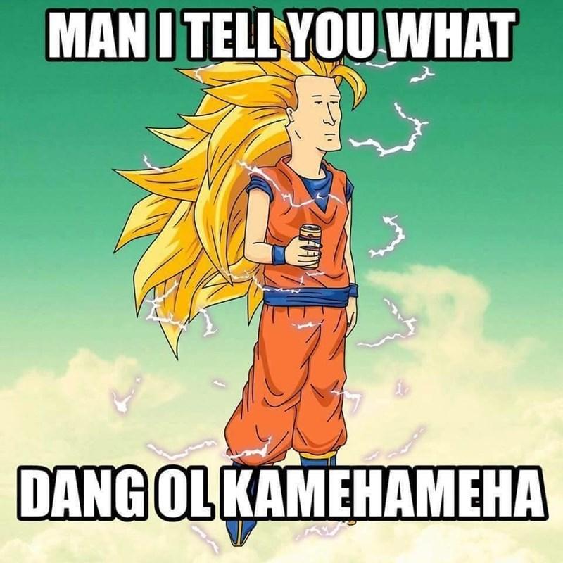 Cartoon - MAN I TELL YOU WHAT DANG OL KAMEHAMEHA