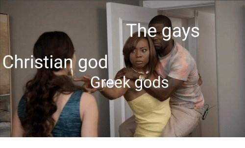 Hair - The gays Christian god Greek gods