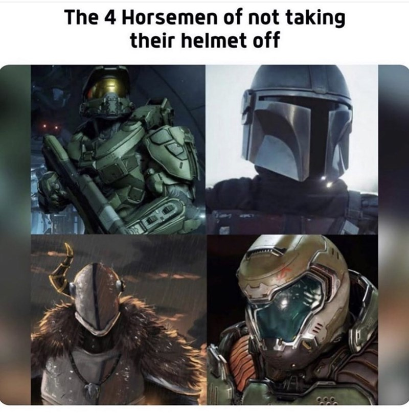 Action-adventure game - The 4 Horsemen of not taking their helmet off