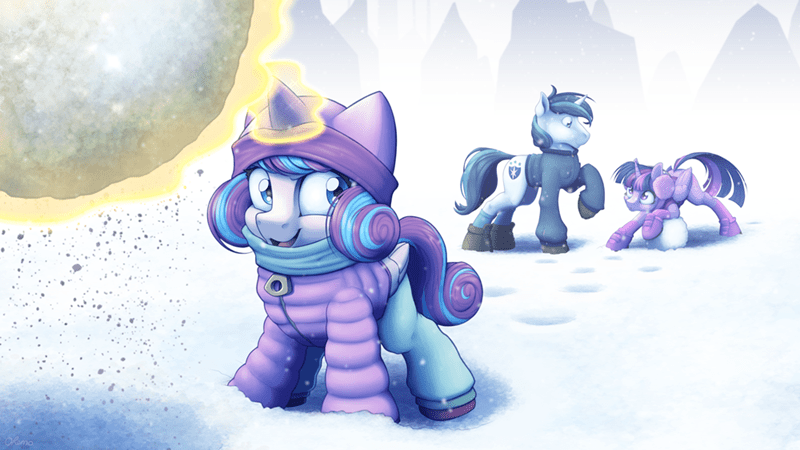 ohemo flurry heart twilight sparkle shining armor - 9427360256