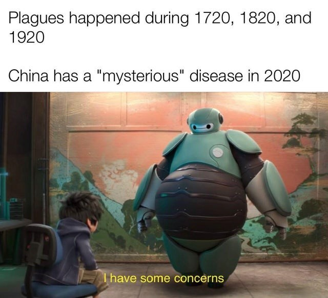 "Organism - Plagues happened during 1720, 1820, and 1920 China has a ""mysterious"" disease in 2020 T have some concerns"