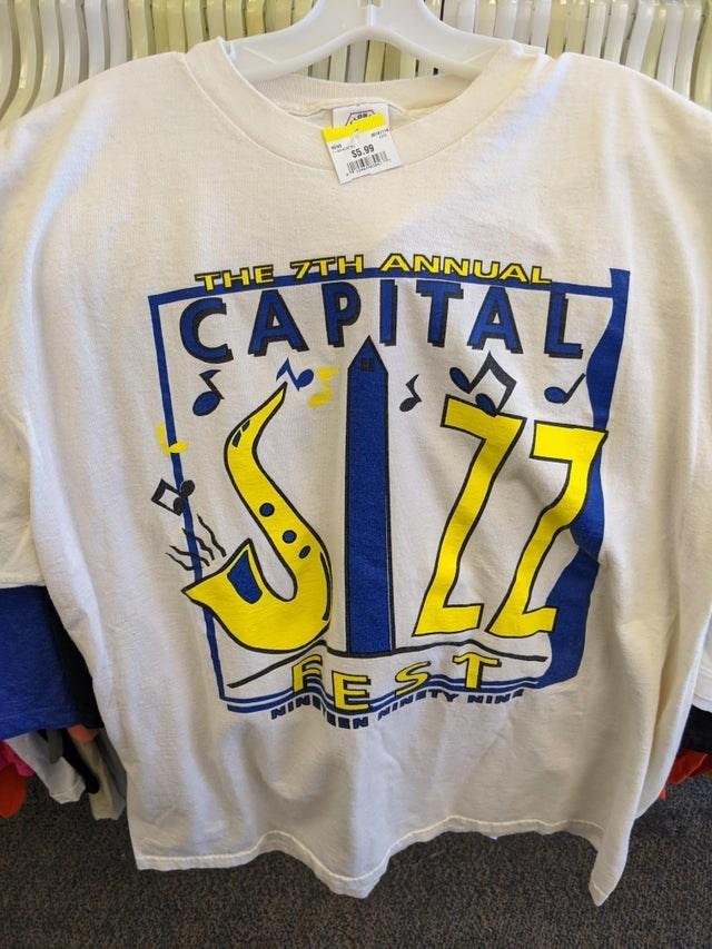 T-shirt - $5.99 THE 7TH ANNUAL CAPITA