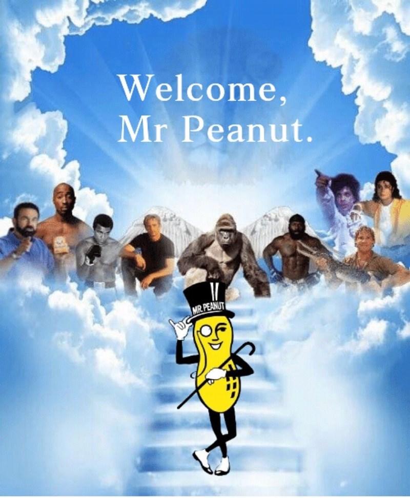 Poster - Welcome, Mr Peanut. MR PEANUT
