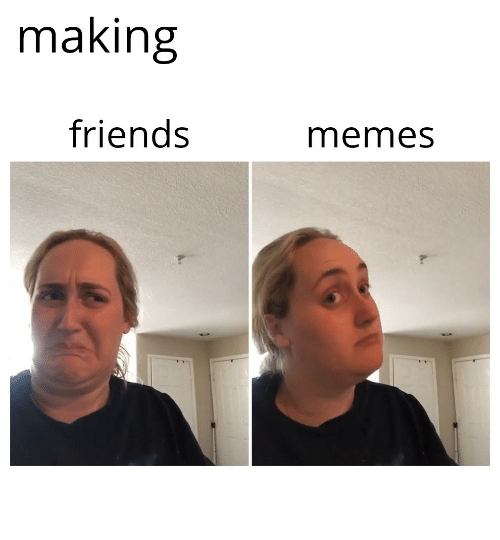 Face - making friends memes