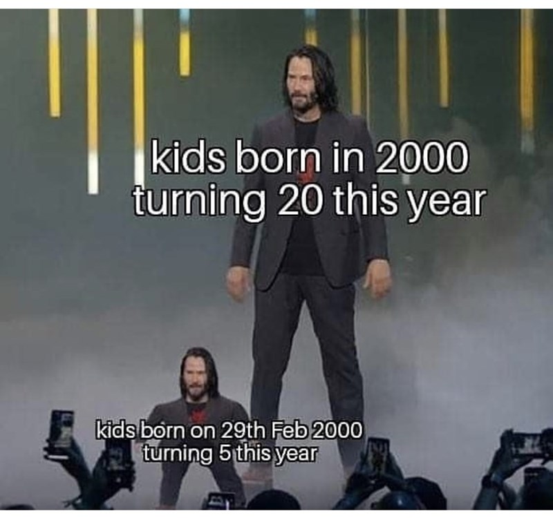Font - kids born in 2000 turning 20 this year kids born on 29th Feb 2000 turning 5 this year