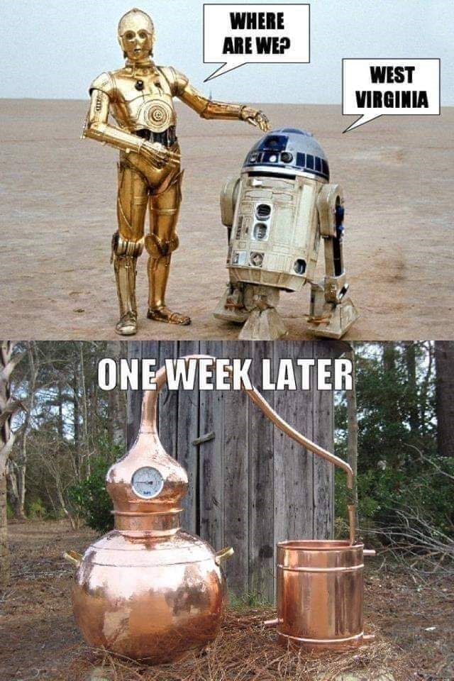 R2-d2 - WHERE ARE WEP WEST VIRGINIA ONE WEEK LATER