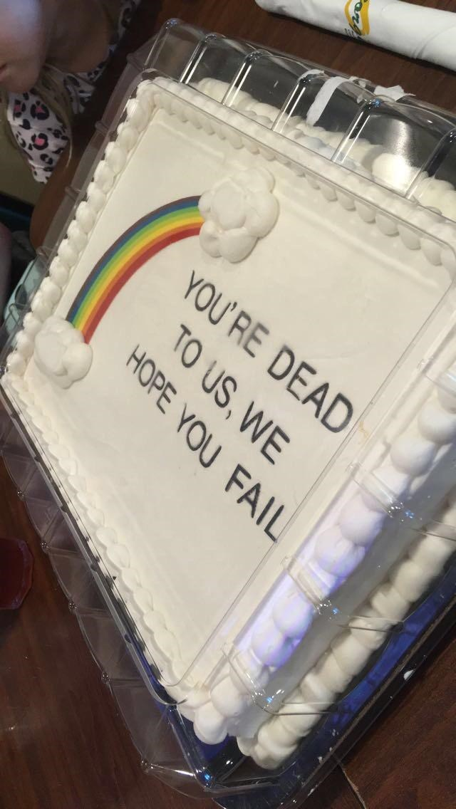 Buttercream - YOU' RE DEAD TO US, WE HOPE YOU FAIL