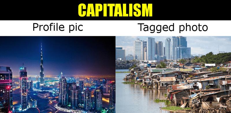 Metropolitan area - CAPITALISM Profile pic Tagged photo