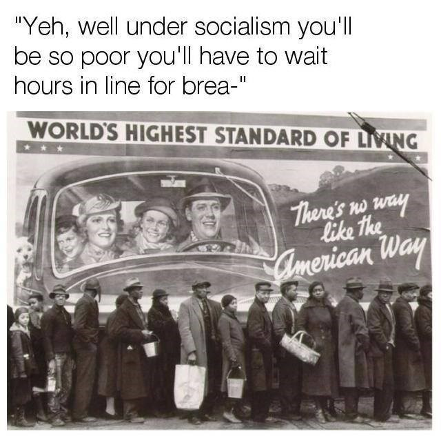 """Team - """"Yeh, well under socialism you'