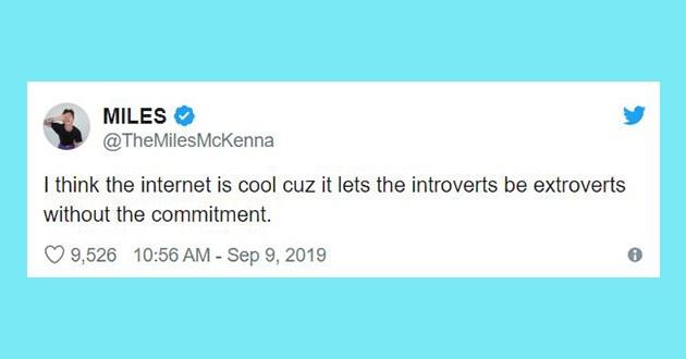 introvert funny relatable tweets