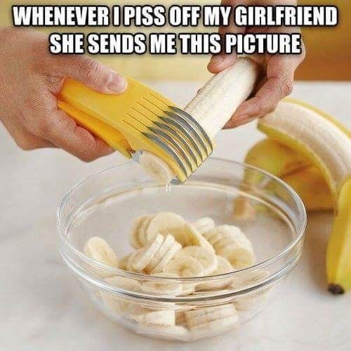 Food - WHENEVER I PISS OFF MY GIRLFRIEND SHE SENDS ME THIS PICTURE