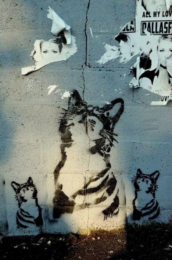 Street art - AL MY LOV PALLASF