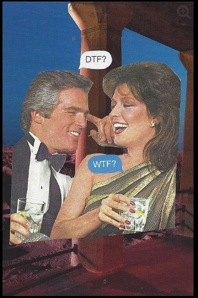 Facial expression - DTF? WTF?